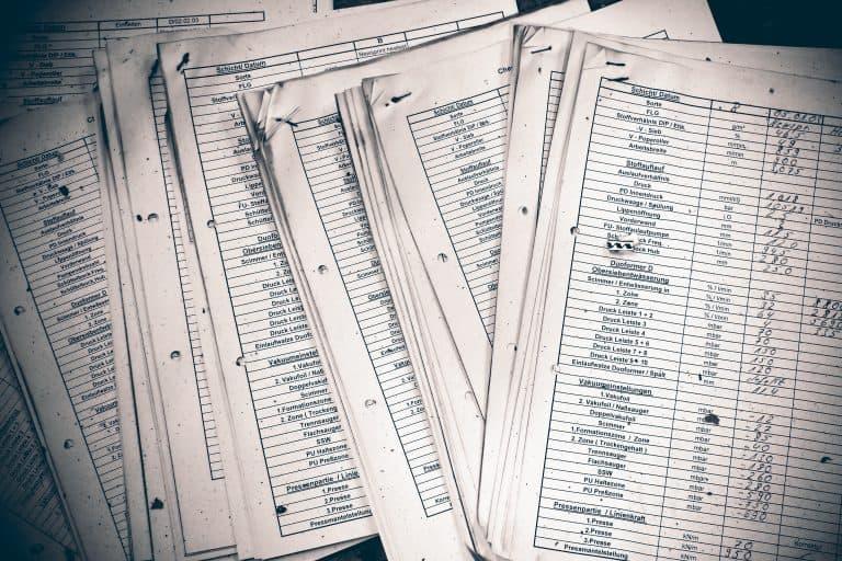Statt auf Papier kann man das Verzeichnis von Verarbeitungstätigkeiten in Excel erstellen.
