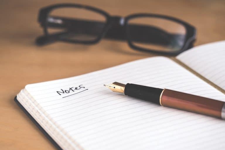 Ein Datenschutzkonzept sollte schriftlich verfasst werden.