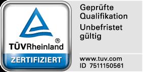 TÜV-Siegel für Oliver Engel
